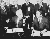 한국과 소련, 85년 만에 수교