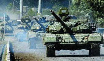 그루지야 사태(러시아-그루지야간 군사분쟁) 발생