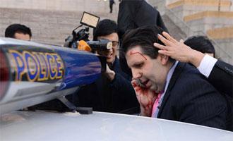 마크 리퍼트 주한 미국 대사, 피습 당해